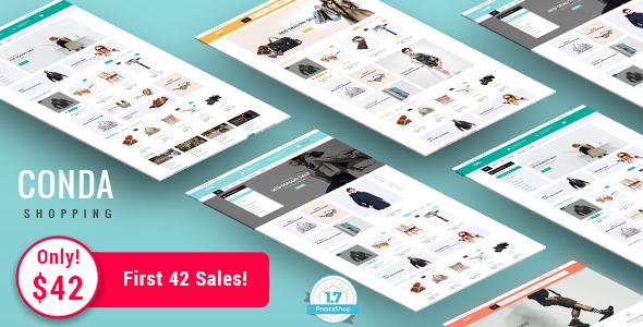 Conda - Shopping Responsive Prestashop 1.7 Theme