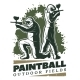 Vintage Paintball Club Template