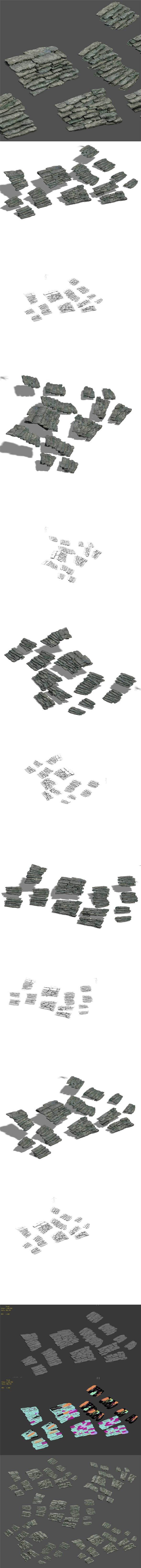 Shushan - stone ladder - 3DOcean Item for Sale