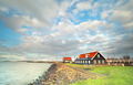 Ijsselmeer coast by Hindeloopen