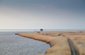 path on the Dollard coast