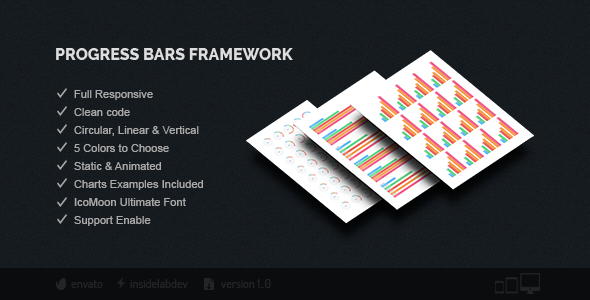 Progress Bars Framework - CodeCanyon Item for Sale