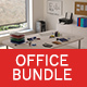 Office accessories set - 36 models + scene files