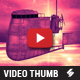 Steampunx - Music Video Thumbnail Artwork Template