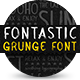 Font Astic - Real Paint Typeface