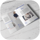Bi-Fold A4 Brochure Mock-up