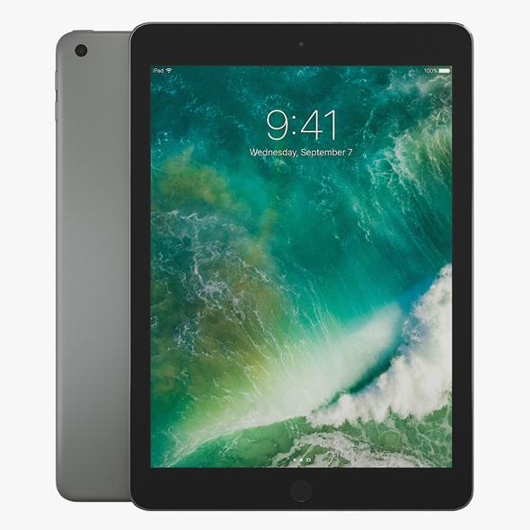 3DOcean Apple iPad 9.7 2017 19814503