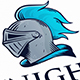 Knight Warrior Logo Design