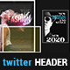 Fashion Display and Promotional Twitter Header