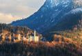 The famous Neuschwanstein Castle