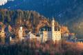 The famous Neuschwanstein Castle in Germany