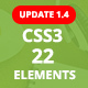 ePack -  22 CSS3 Ultimate Element Packages