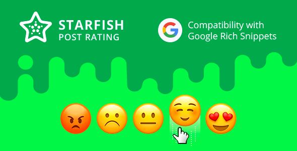 Strafish Post Rating for WordPress (WordPress) images