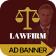 Lawfirm | HTML 5 GWD Animated Google Banner
