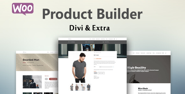WooCommerce Product Builder For Divi (WooCommerce) images