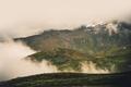 Foggy Norwegian Mountains