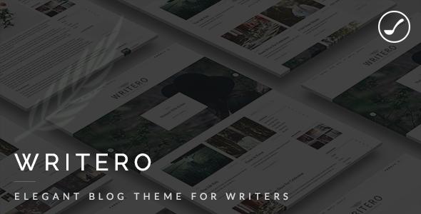 Writero - Elegant WordPress Blog Theme