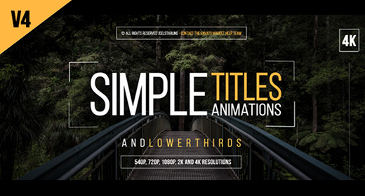 Titles - After Effects