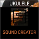 Playing on Ukulele