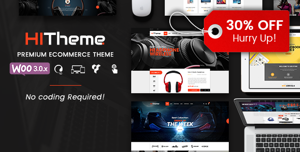 HiTheme – Responsive WooCommerce WordPress Theme (WooCommerce) images
