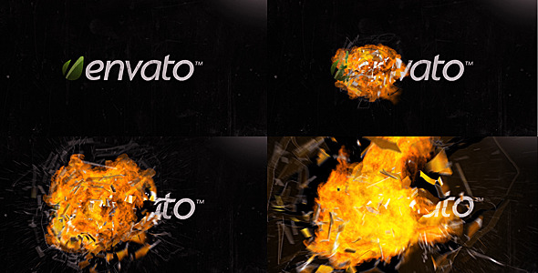 After Effects Project - VideoHive Explosion Glass & Fire 1939322