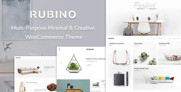 Download Rubino - Minimal & Creative WooCommerce Theme