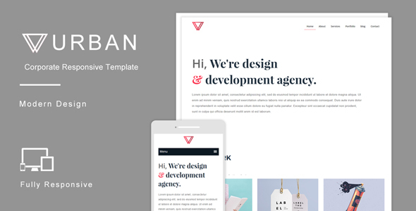 Urban - Multipurpose Responsive HTML Template