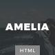 Amelia - Minimal Blog & Magazine Template