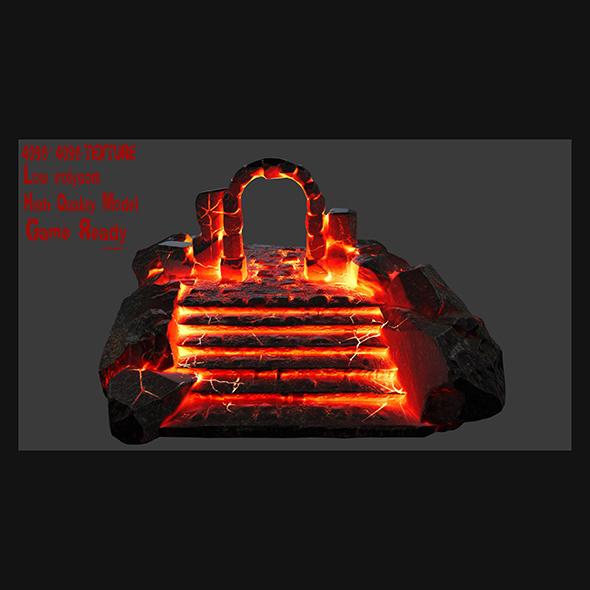 3DOcean Hell Gate 19818034