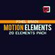 20 Motion Graphic Shape Elements