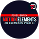 20 Motion Graphic Shape Elements Pack II
