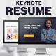 Personal Resume - Keynote Presentation