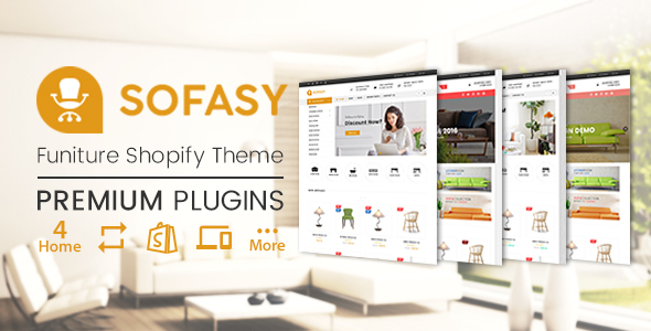 Image of SP Sofasy - Furniture Responsive Shopify Theme