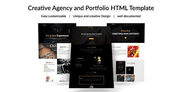 Creative Agency -  Corporate Business Template