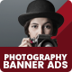 Girl Photography Banners Ads