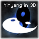 Yin yang in 3D - 3DOcean Item for Sale