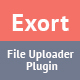 Exort – jQuery File Picker & Uploader Plugin (Loaders and Uploaders)
