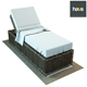 Haus Interior Single Woven Chaise-longue