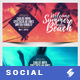 Electronic Music Party vol.20 - Facebook Post Banner Templates