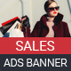 Sales Ads Banners