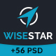 WiseStar - Finance & Business PSD Template