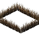 Game Model - prairie scene - wooden fence fence fence 04 01