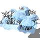 Game Model - Snow - low shrubs 01