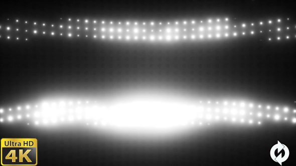 VideoHive Wall of Lights White VJ Loop 19822969