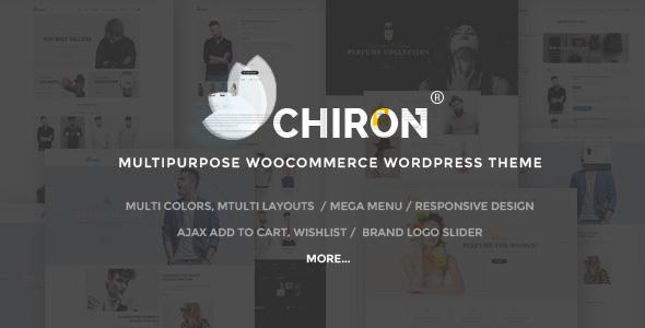 Chiron - Multipurpose WooCommerce WordPress Theme