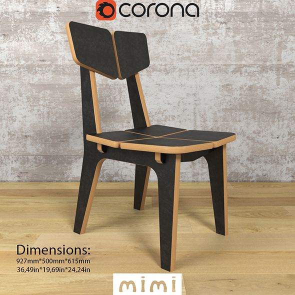 Chairs ColorSet Domino (mimi) - 3DOcean Item for Sale