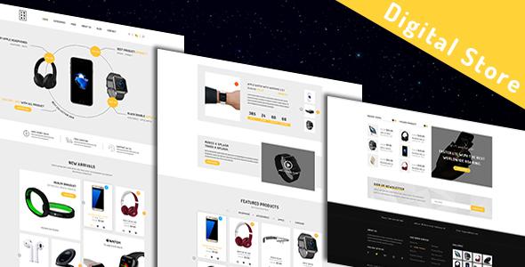 Luxury - Modern Digital Store