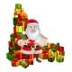 Santa and Gifts List