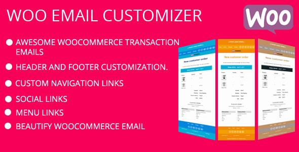 WooCommerce E mail Customizer (WooCommerce)