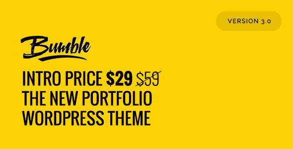 Download Bumble - The Portfolio WordPress Theme